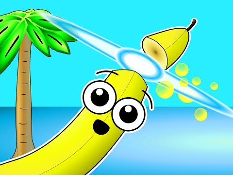 """""""Island Fruits Groove"""" - Fruit Ninja Song, Learn Fruit Names, Super Simple Baby Learning"""
