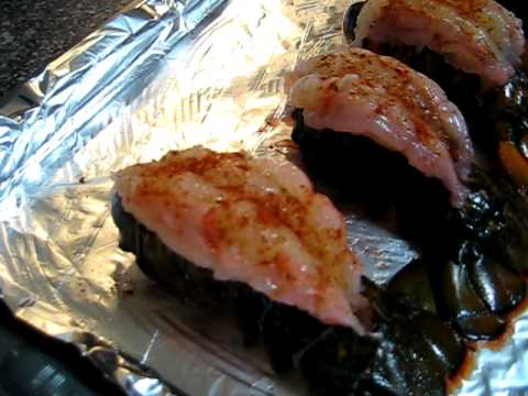 Lobster Tails Jiggle with Sodium