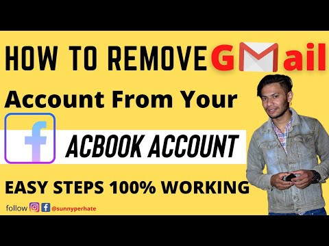 How To Remove Your Gmail Account From Fb ✌️✌️. Part - 2 (Hindi) (2019).