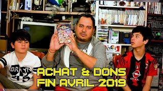 (EP71) Achats & Dons fin avril 2019