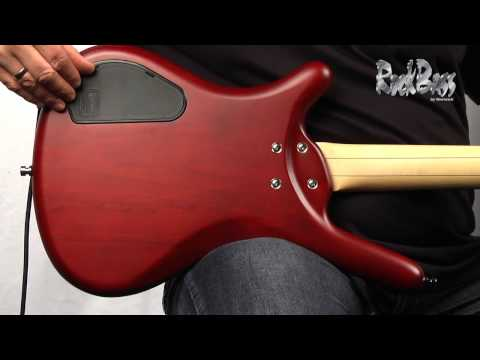 The RockBass Corvette Basic Active 4-String - with Andy Irvine