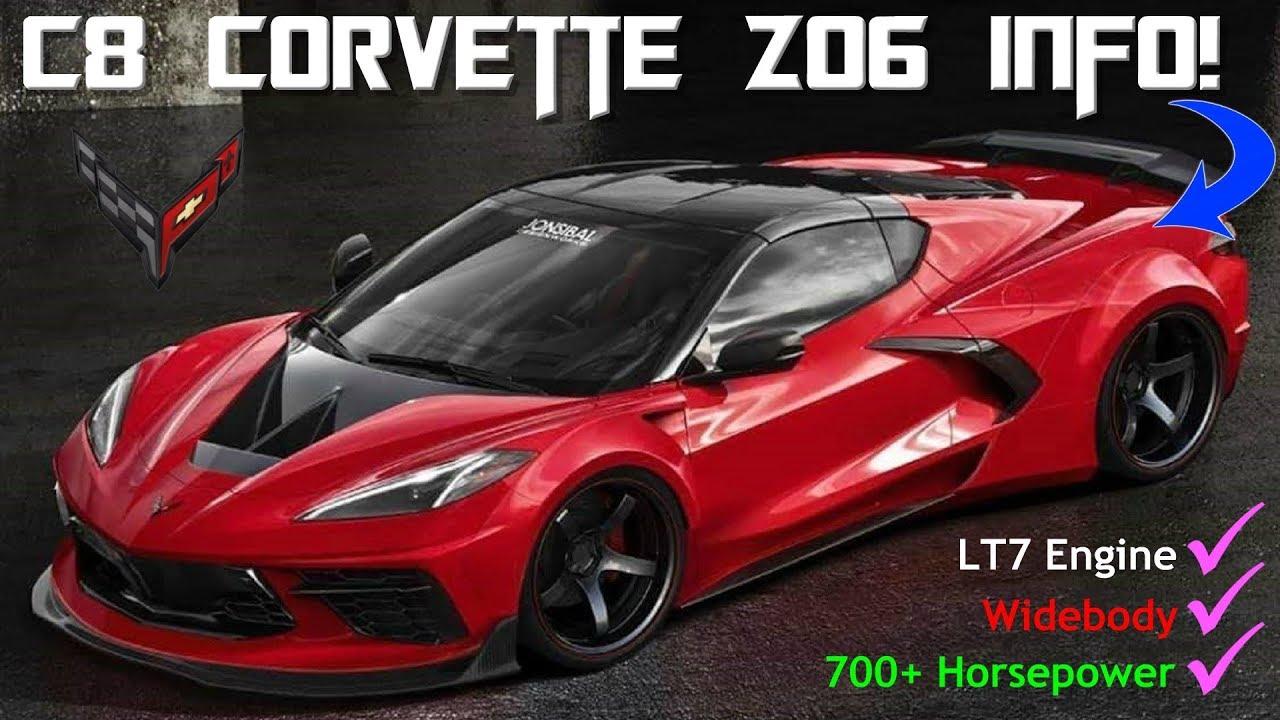 The C8 Mid Engine Corvette Z06 Information has LEAKED ...