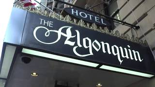New York's Famed Algonquin Hotel - Video Tour - Watch This Before You Book