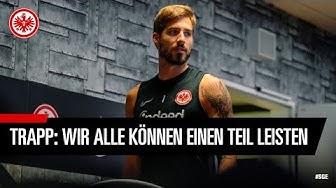 """""""Wir alle können unseren Teil leisten"""" I Kevin Trapp appelliert an die Eintracht-Anhänger"""