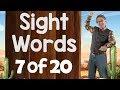 Sight Words | Ready to Read Sight Words | List 7 | Jack Hartmann