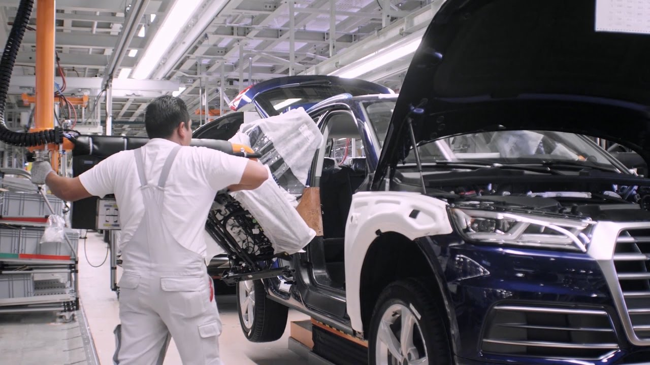 Audi San Jose >> Audi Q5 Production, Mexico - YouTube