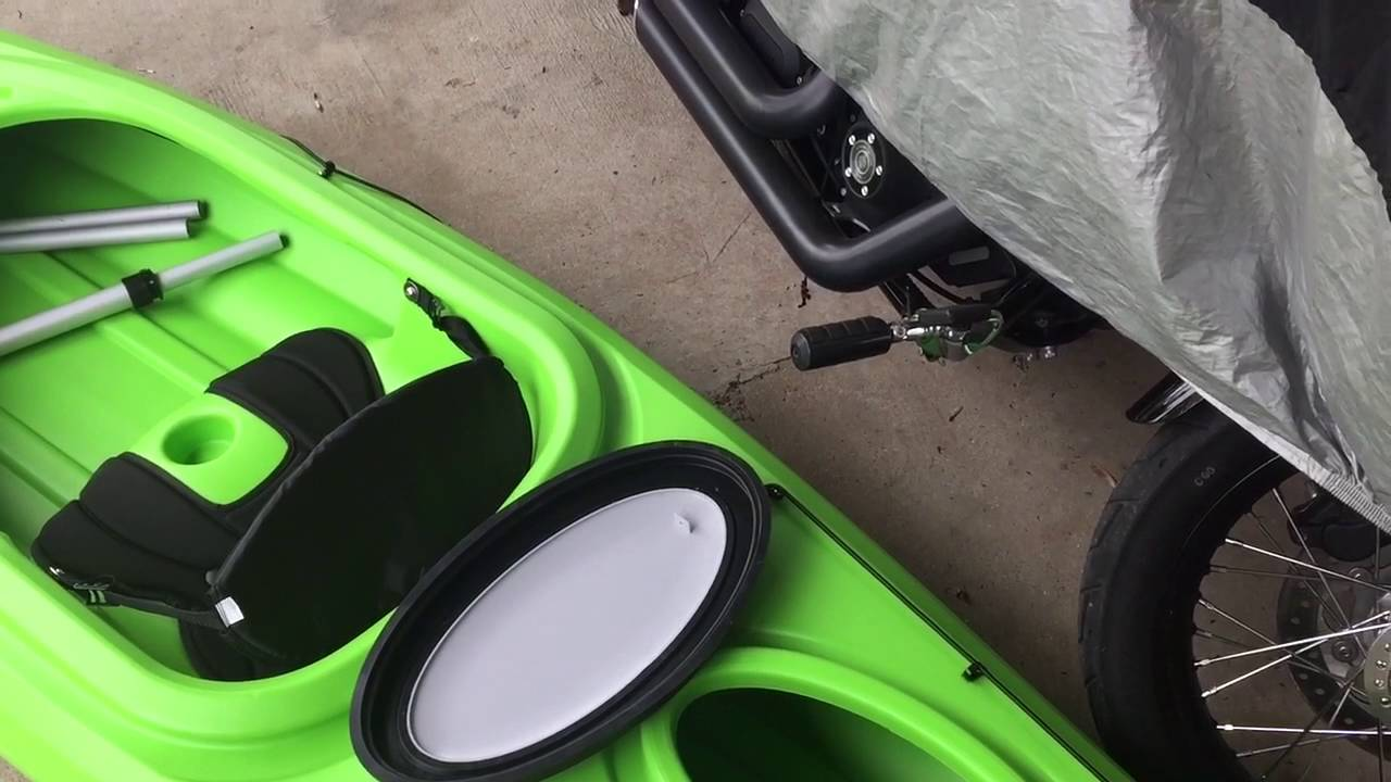 Cheap Kayak DIY Mods