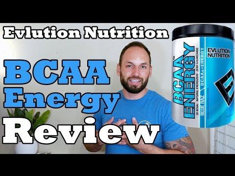 EVL BCAA Energy Supplement Evlution Nutrition 2017 Supplement Review