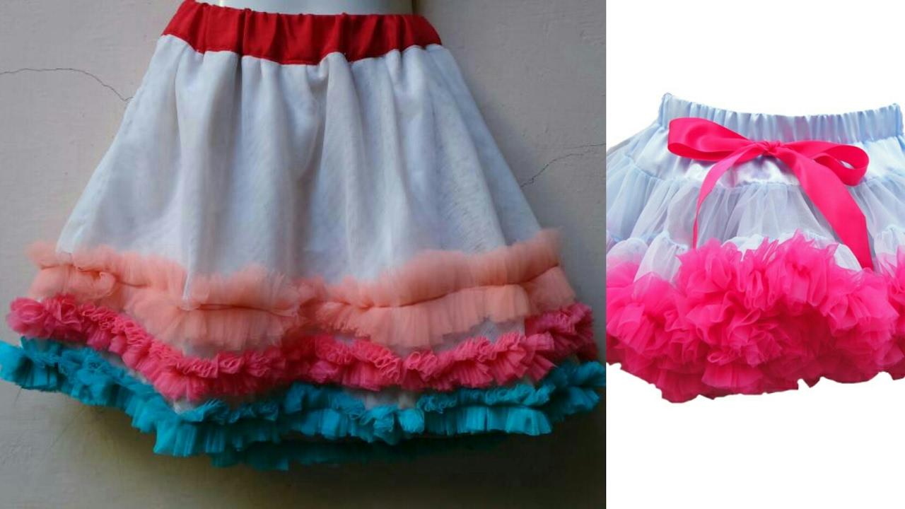 950901b4076f Net skirt cutting and stitching