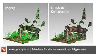 Neuerungen in Geomagic Wrap 2021