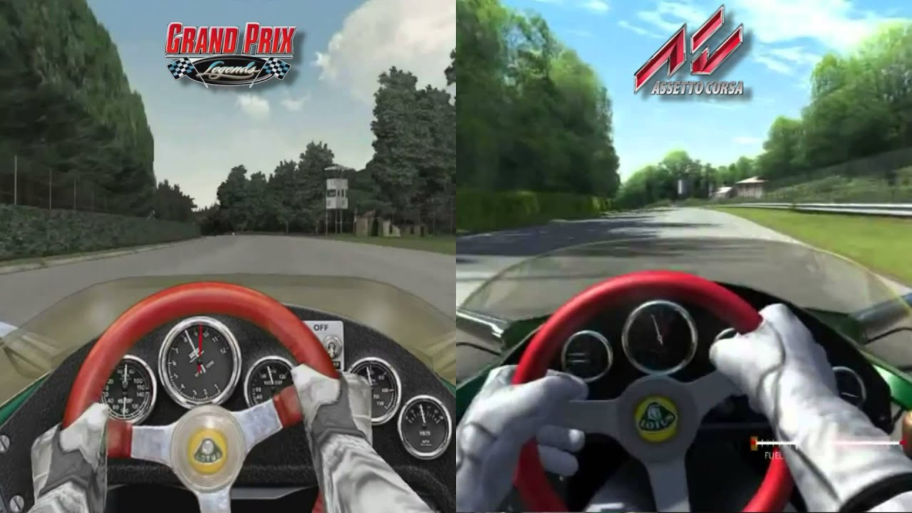 Abu Dhabi Grand Prix >> Grand Prix Legends vs Assetto Corsa - Lotus 49 @ Monza ...