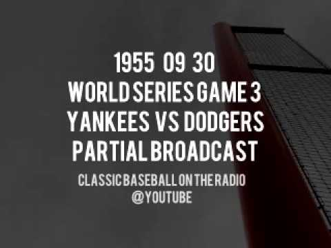 1955 09 30 World Series Game 3 Yankees at Dodgers