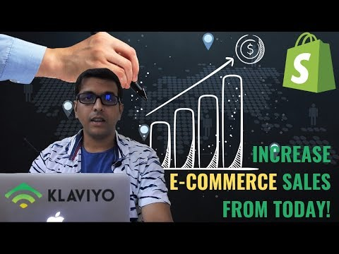Klaviyo for Shopify Tutorial   Best Email Marketing Tool for eCommerce Growth   Marketing Automation