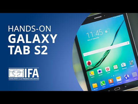 Samsung Galaxy Tab S2: experimentamos o novo tablet da sul-coreana [Hands-on | IFA 2015]