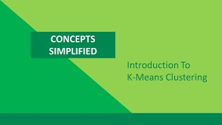 Technical Course: Cluster Analysis: K-Means Algorithm for Clustering