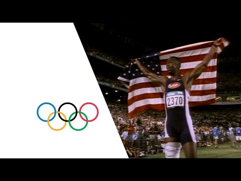 Michael Johnson wins double gold in Atlanta | Olympic History