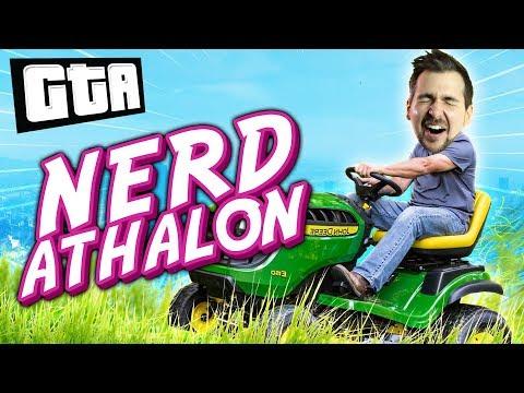 RACING IN A NERD DECATHLON | GTA 5