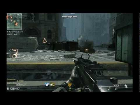 Mw3 Downturn Survival Solo Strategy 70 Youtube