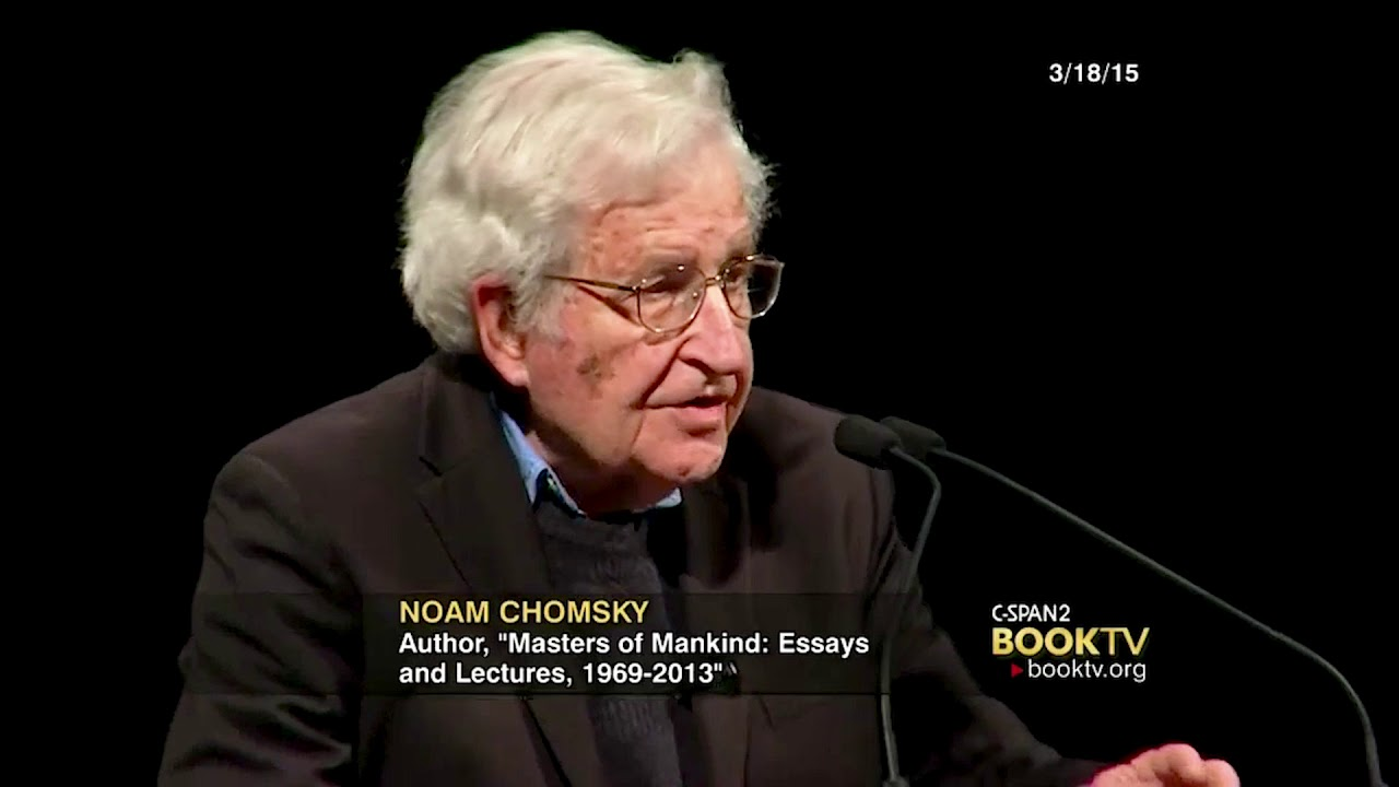 on noam chomsky critical essays