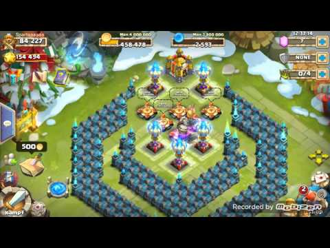 Castle Clash Candy Kane Vs 3 Dungeons