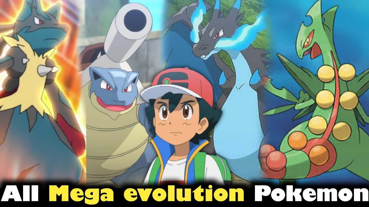 All Mega evolution Pokemon explained || All mega Pokemon | Mega Pokemon power | Pokemon in hindi