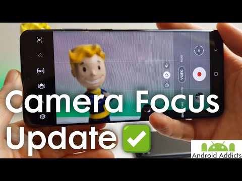 Samsung Galaxy S20 Ultra Camera Autofocus Issue Update