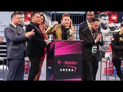 Canelo Álvarez POST FIGHT PRESS CONFERENCE Vs GGG   The Rematch
