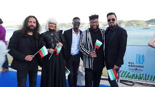 Eurovision 2018: Blue Carpet mit Equinox (Bulgarien)