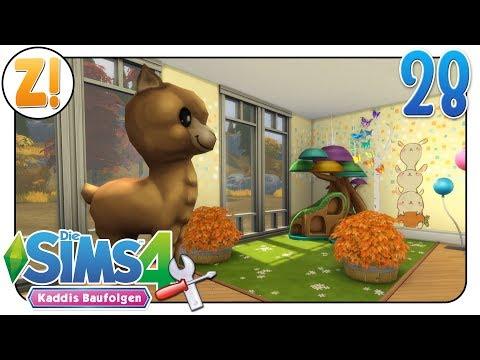 Sims 4 - Kaddi's Baufolgen: Endlich was los an der Wand #28   Let's Play [DEUTSCH]