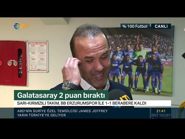 BB Erzurumspor Teknik Direktörü Mehmet Özdilek: ''Kazanabilecek kadar oynadık''