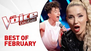 BEST of FEBRUARY 2020 in The Voice Kids