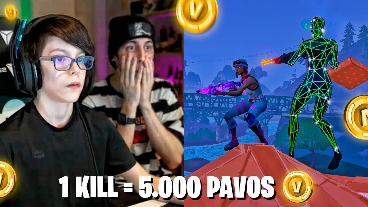 1 KILL = 5.000 PAVOS PARA THIAGO | Robleis