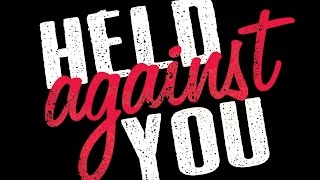 Held Against You book trailer
