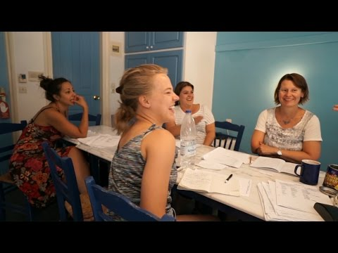 Greek lessons in Greece by Ikarian Centre