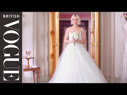 Cara Delevingne: A Bride Less Ordinary  British Vogue