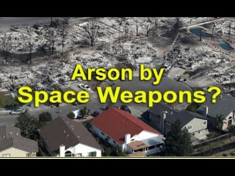 HAARP Microwave direct energy Carr Fire Trees standing homes destroyed Raw Footage July 28 2018