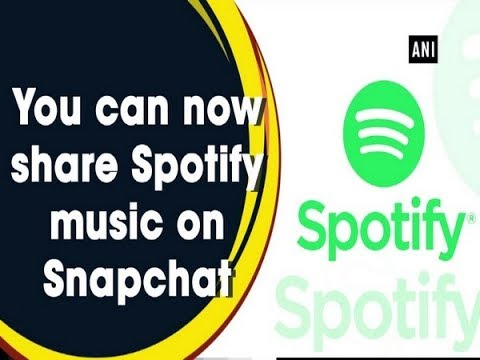 Spotify users can now share music directly to Snapchat