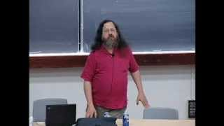 The Danger of Software Patents - Richard Stallman