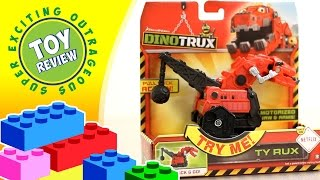 Pull Back Ty Rux  from Netflix Dinotrux - Toy Review
