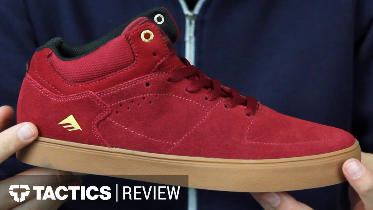 a4178a7727 Emerica Hsu G6 Skate Shoes Review - Tactics.com - YouTube