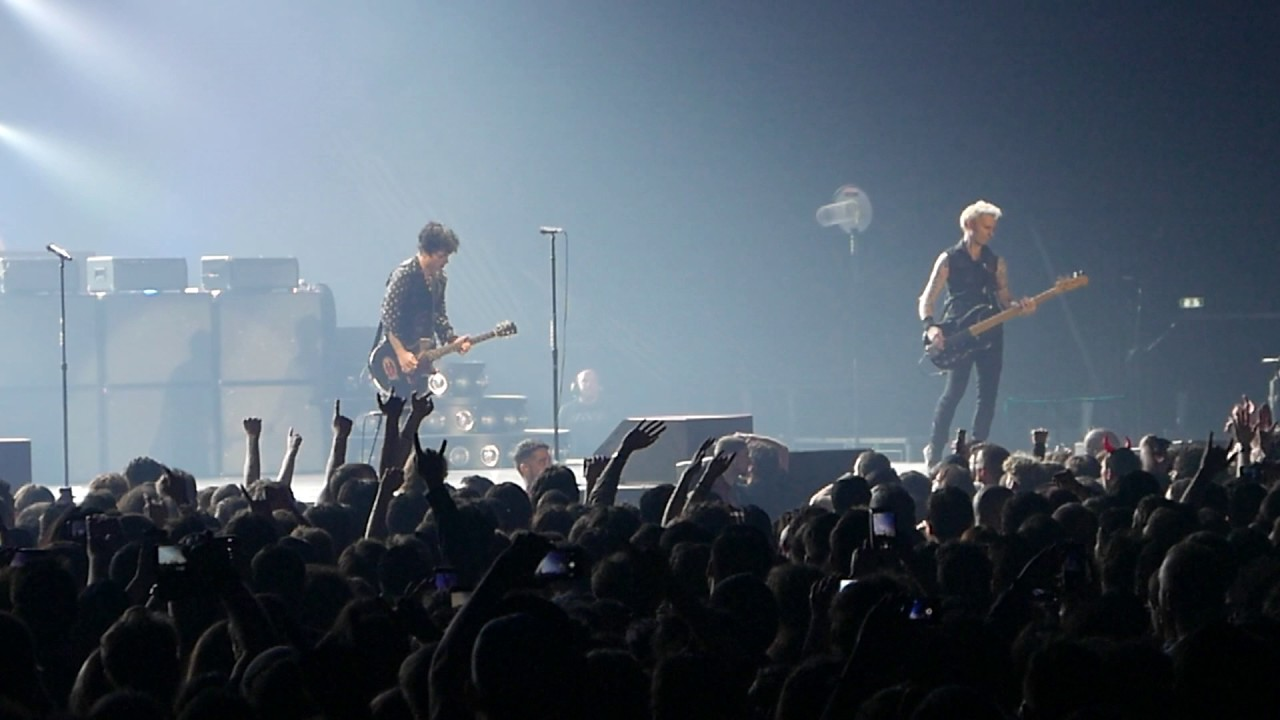 green day, american idiot, paris bercy accor hotel arena, 3 feb