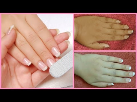 Thumbnail: salon style manicure at home/how to do manicure at home in hindi