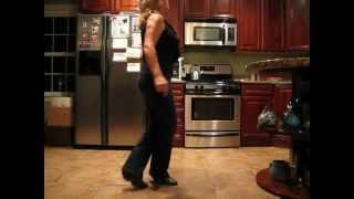 Cowgirl Hustle line dance (demo)