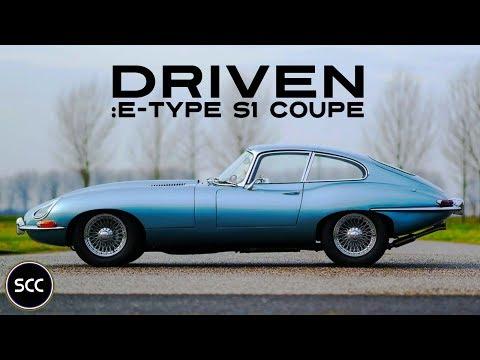 JAGUAR E-TYPE Series 1 3.8 Coupé 1964 - Test drive - Engine sound | SCC TV