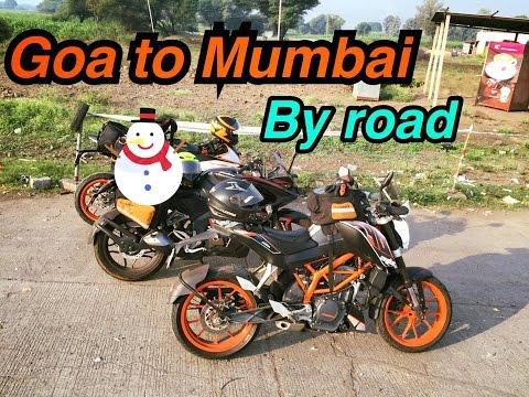 Goa To Mumbai | By road | Pulsar Rs200, KTM RC390