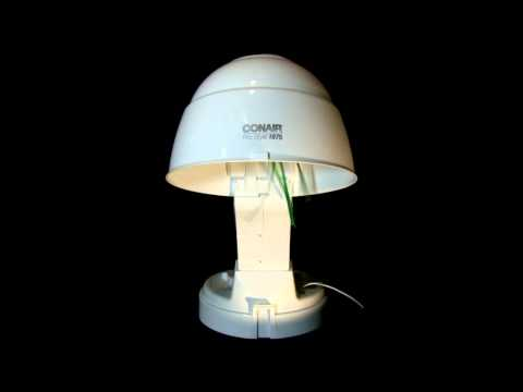 "Bonnet Hair Dryer 8hrs ""Sleep Sounds"" ASMR"