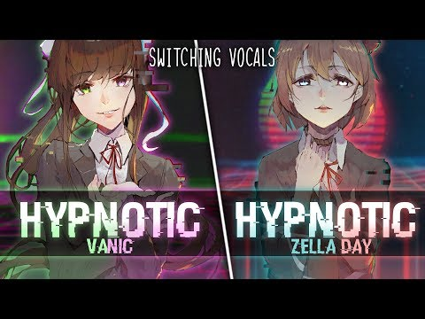 ◤Nightcore◢ ↬ Hypnotic [Switching Vocals]