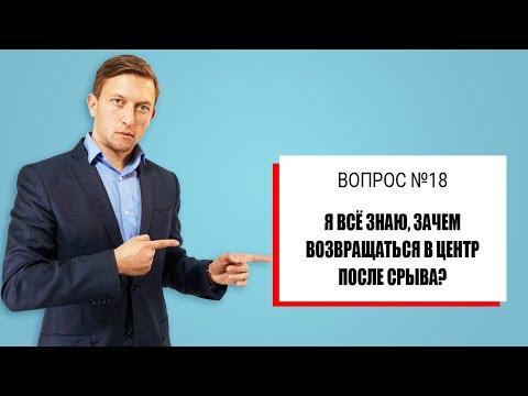 Зачем наркоману и алкоголику снова после срыва возвращаться реабилитационный в центр? Андрей Борисов