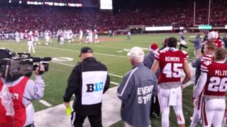 ***Thriller Sideline Perspective 2015 Nebraska vs. Michigan State (last 5 min.)