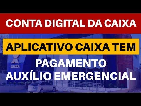 AUXÍLIO EMERGENCIAL | CONTA DIGITAL DA CAIXA - CAIXA Tem